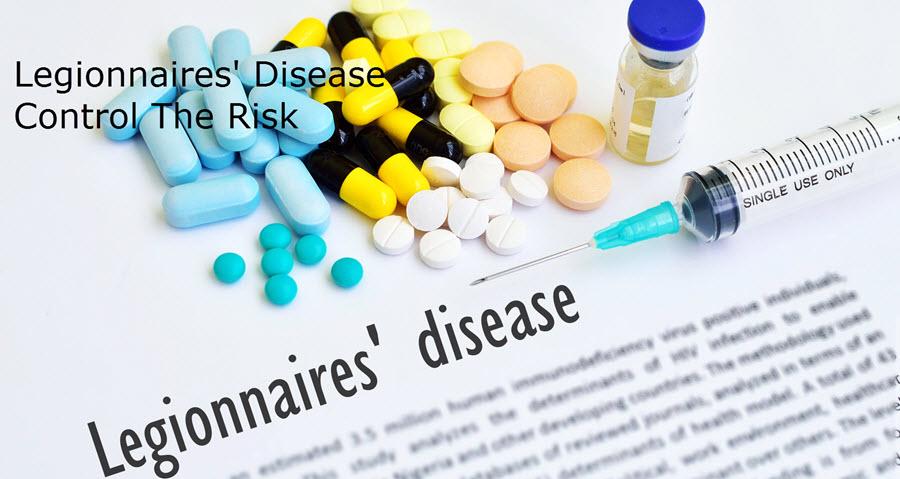 Legionnaires Disease - Control the risk slider